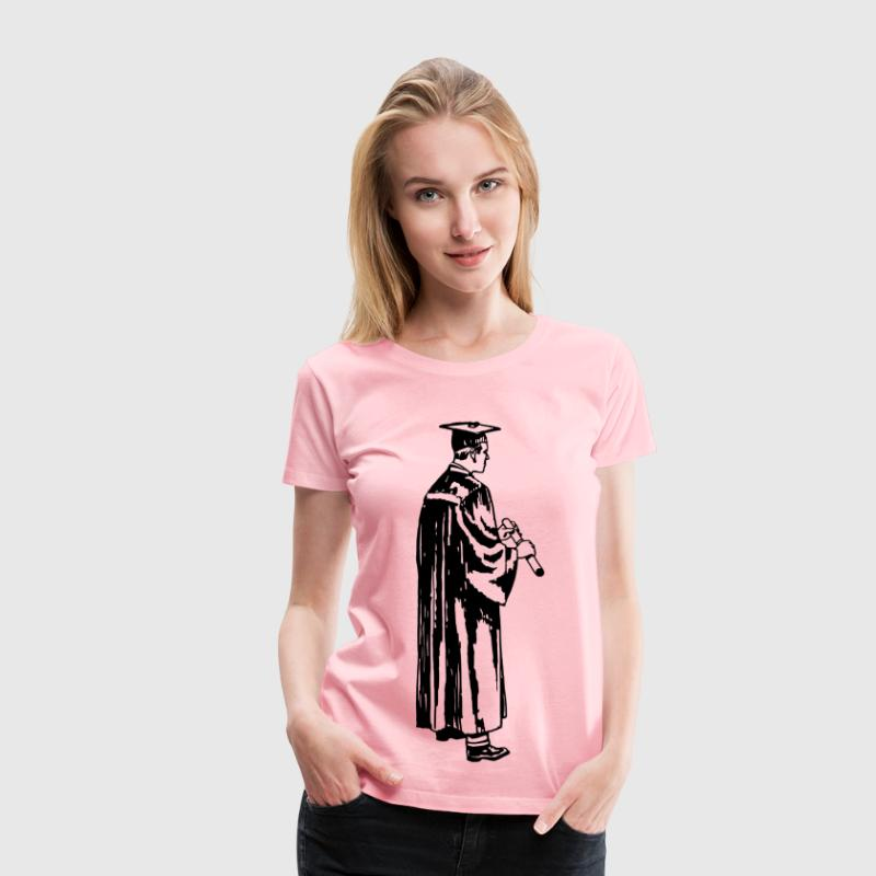 Academic gown - Women's Premium T-Shirt