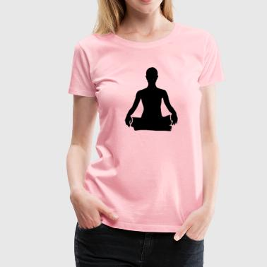 meditation - Women's Premium T-Shirt
