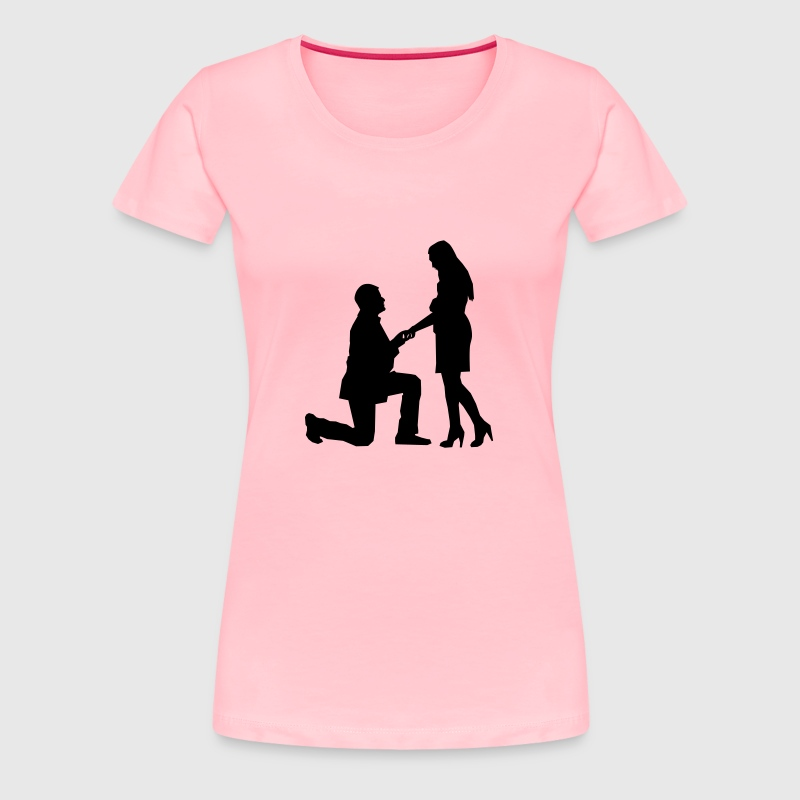 The Proposal - Women's Premium T-Shirt