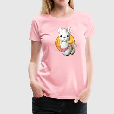 Hungry Llama - Women's Premium T-Shirt