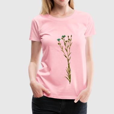 Linseed (detailed) - Women's Premium T-Shirt