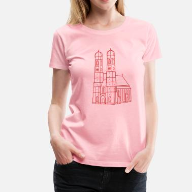 Our Lady Church Munich Frauenkirche - Women's Premium T-Shirt