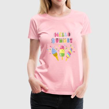 Hello Summer - Women's Premium T-Shirt
