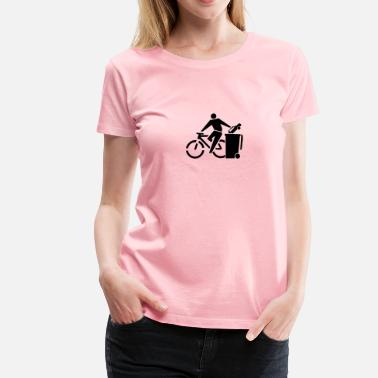 Cycling Is Life Cycle no car - Women's Premium T-Shirt