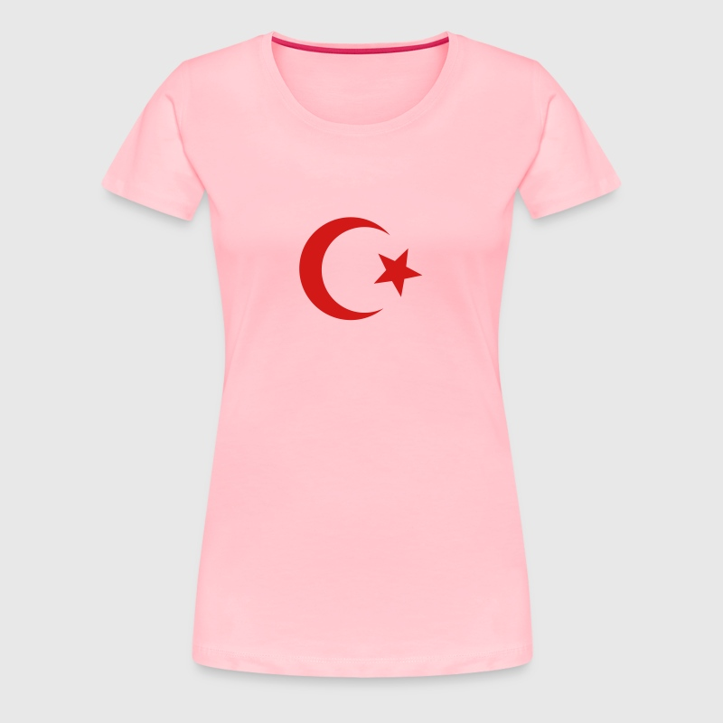 star and crescent - Women's Premium T-Shirt