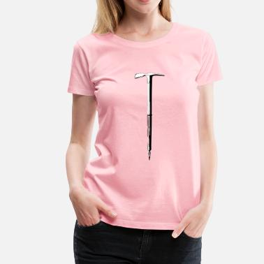 Ice Axe ice axe - Women's Premium T-Shirt