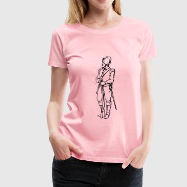 Musketeer - Women's Premium T-Shirt