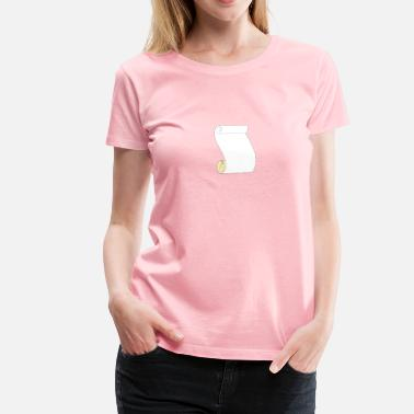 Scrolling Scroll - Women's Premium T-Shirt