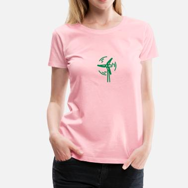 Wind Power Wind power - Women's Premium T-Shirt