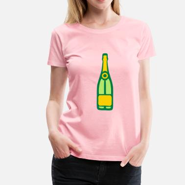 Champagne Alcohol alcohol bottle champagne 210 - Women's Premium T-Shirt