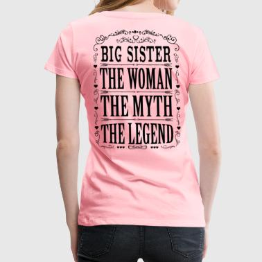 Big Sister The Legend... - Women's Premium T-Shirt