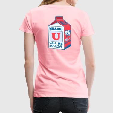 Miss You Father Missing You - Women's Premium T-Shirt