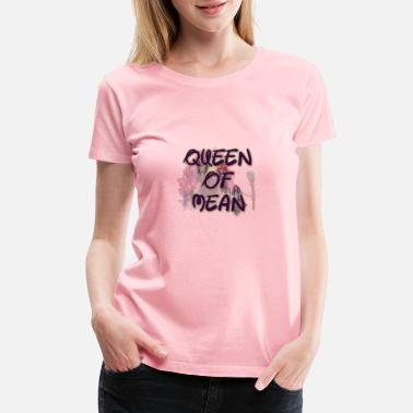 Mean Queen of mean (descendant 3) - Women's Premium T-Shirt