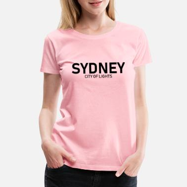 Down Sydney - City of Lights - Australia - Down Under - Women's Premium T-Shirt