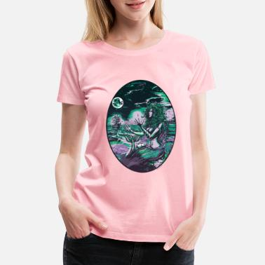 Sea Mermaid Siren Pearl of Atlantis - Women's Premium T-Shirt