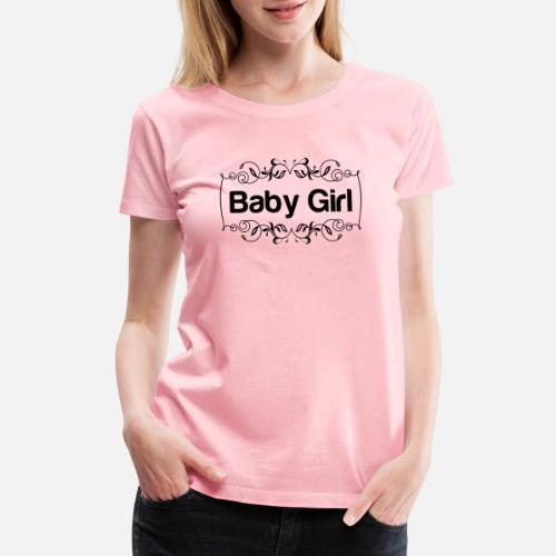 a695a979 baby girl Women's Premium T-Shirt | Spreadshirt