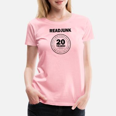 20th Anniversary ReadJunk.com 20th Anniversary (black) - Women's Premium T-Shirt