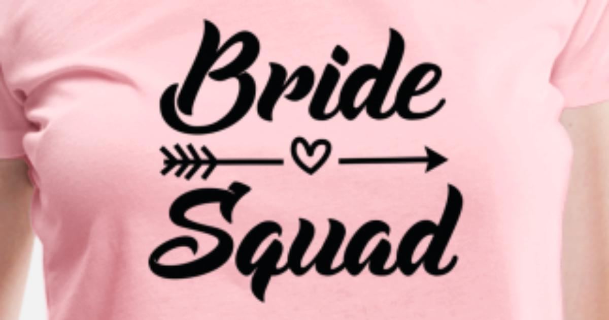 c557bd7c533b8 Arrow Bride Squad Black Women's Premium T-Shirt | Spreadshirt