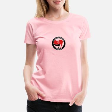 Antifascist Antifa WiFi - Women's Premium T-Shirt