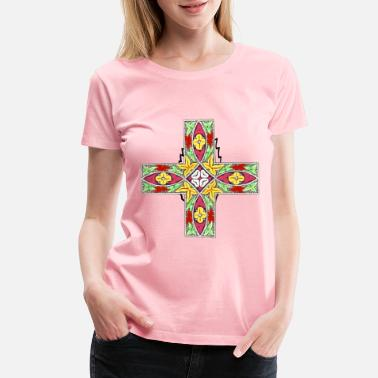 Decoration Ornamental cross - Women's Premium T-Shirt