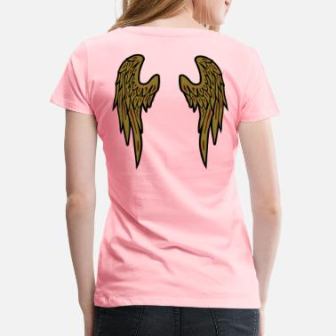 Angels Wings Angel wings - Angelwings - Women's Premium T-Shirt