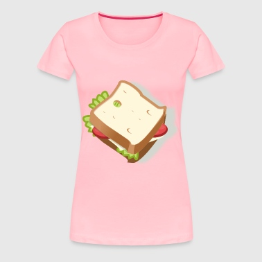 vegetarian sandwich - Women's Premium T-Shirt