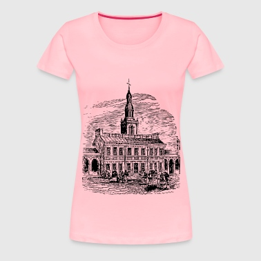 Independence Hall - Women's Premium T-Shirt