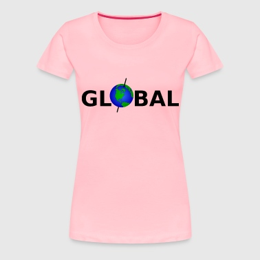 global - Women's Premium T-Shirt
