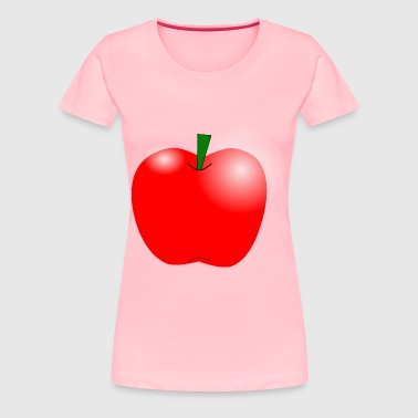 Apple - Women's Premium T-Shirt