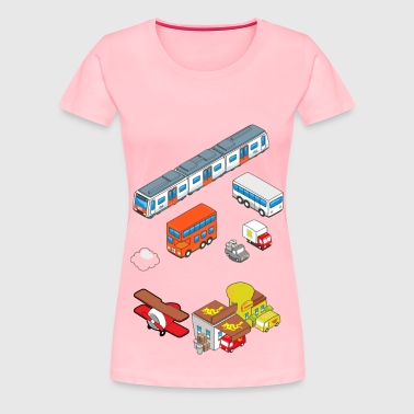 Vehicles - Women's Premium T-Shirt
