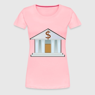 Bank - Women's Premium T-Shirt
