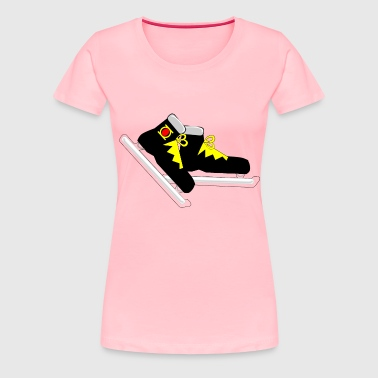 Pair of Skates - Women's Premium T-Shirt