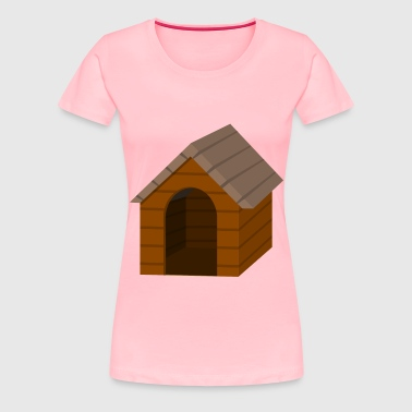 Brown doghouse - Women's Premium T-Shirt