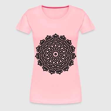 Interlocking Geometric Design 4 - Women's Premium T-Shirt