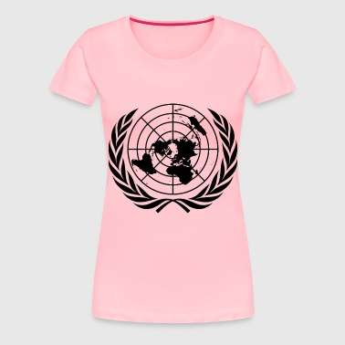 United nations symbol - Women's Premium T-Shirt