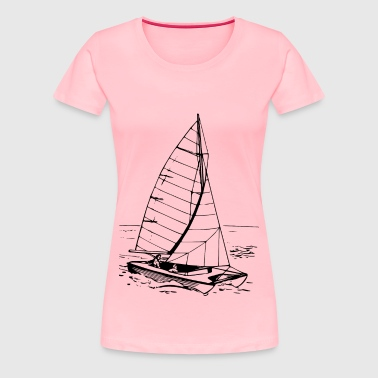 Catamaran - Women's Premium T-Shirt