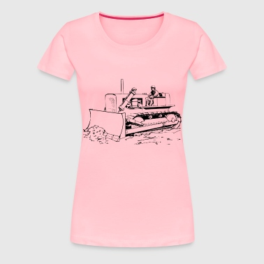 Bulldozer - Women's Premium T-Shirt