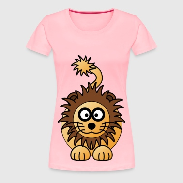LION male - Women's Premium T-Shirt