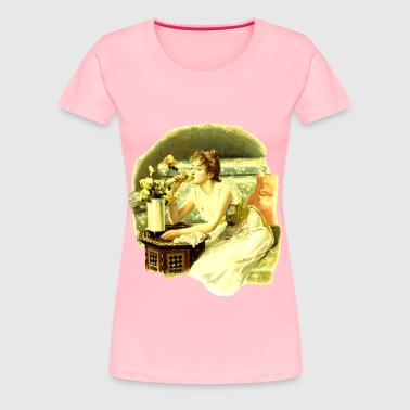 Smell the roses - Women's Premium T-Shirt