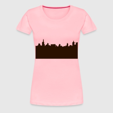City Skyline - Women's Premium T-Shirt