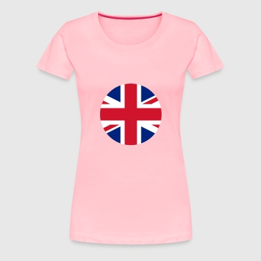 Flag Eng - Women's Premium T-Shirt