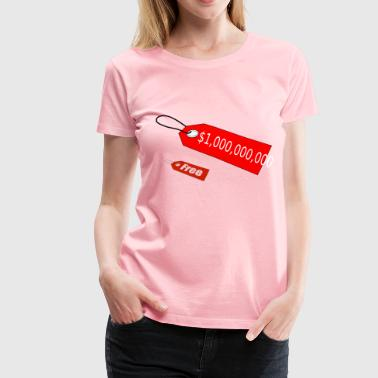 price tag - Women's Premium T-Shirt
