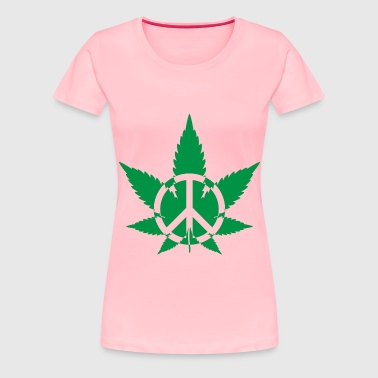 Peace Marijuana 2 - Women's Premium T-Shirt