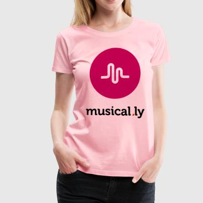 Musical.ly Logo - Women's Premium T-Shirt