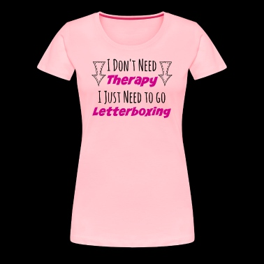 Letterbox Therapy - Women's Premium T-Shirt