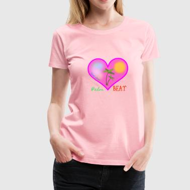 Palm Beat - Women's Premium T-Shirt