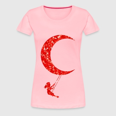 Ruby Lunar Swing - Women's Premium T-Shirt