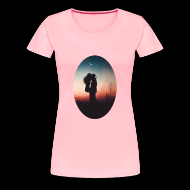 Romantic love - Women's Premium T-Shirt