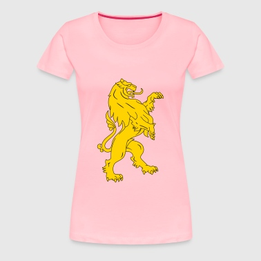 Stylised lion 11 - Women's Premium T-Shirt