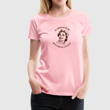 Happiness is knowing JC Brown - Women's Premium T-Shirt